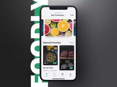 Foodly is a food delivery iOS app UI Kit to satisfy all your product design nutritional needs. This kit comes packed with 50 beautifully designed screens and a hearty portion of deliciously responsive components. Food Web Design, App Ui Design, Interface Design, User Interface, Flat Design, Ui Kit, Design Android, Ui Design Mobile, Design Presentation