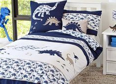dinosaur bedding by whimsy kids... love...