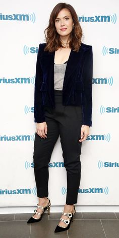 Look of the Day - Mandy Moore from InStyle.com                                                                                                                                                                                 More