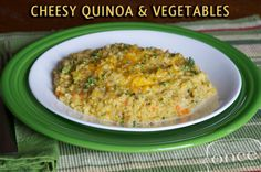 Cheesy Quinoa and Vegetables | Once A Month Meals