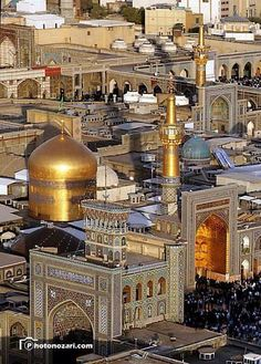 Holy shrine of Imam Reza (p.b.u.h)   Mashhad, Iran
