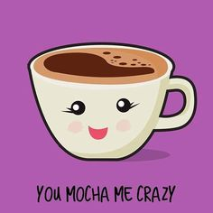 New funny love puns design ideas Coffee Talk, Coffee Is Life, I Love Coffee, My Coffee, Coffee Girl, Coffee Shop Signs, Funny Food Puns, Food Humor, Coffee Jokes