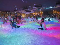 A giant UV ball pit is coming to Shoreditch. Take one million translucent balls, three ball pits, a 60-metre UV mural, and more retro-sweetie cocktails than you can shake a stick at. Have you got what it takes?