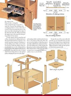 Tilt Top Router Table Plans - Router