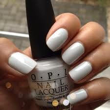 Nail Trend for 2013: Winter White! #Nail #Beauty