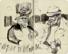 Sketchbook of Pat Perry