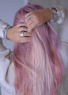 Pastel hair...Get more of us>>>.HAIR NEWS NETWORK on Facebook... https://www.facebook.com/HairNewsNetwork