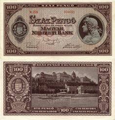 Old Money, Gold Coins, Hungary, Budapest, Old Photos, 1, Stamp, History, World