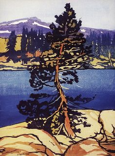 labrancaro:    PINE TREE - WILLIAM S. RICE  silkscreen?
