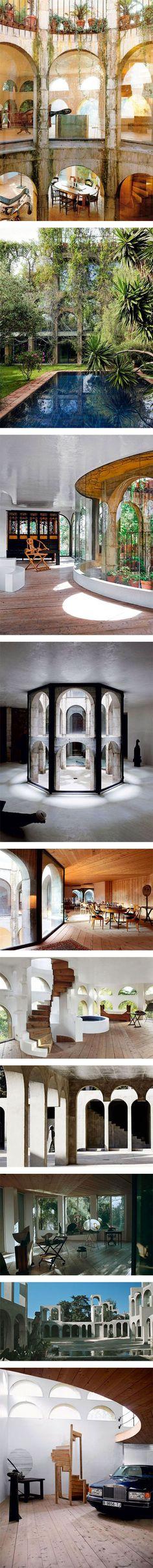 Sculptor Xavier Corberou0027s incredible home in Spain