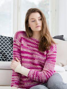 Hae neuleohjeita | Novita knits Turtle Neck, Pullover, Knitting, Sweaters, Pattern, Knits, Crocheting, Passion, Crochet