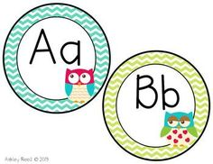 Are you obsessed with Chevron and Owls like me? I've created this cute little Word Wall Headers set for owl lovers like me. This includes a Heade. Chevron Classroom, Owl Theme Classroom, Classroom Layout, First Grade Classroom, Kindergarten Classroom, Classroom Organization, Classroom Ideas, Preschool Learning Activities, Preschool Lessons