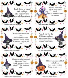 Halloween Toys, Halloween Activities For Kids, Halloween Party Games, Holidays Halloween, Spooky Halloween, Halloween Treats, Halloween 2020, Halloween Worksheets, Free Halloween Printables