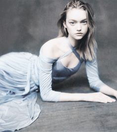 Gemma Ward in 'A Poetics Of Fluids' by Paolo Roversi for the Hermes S/S 2005 catalogue
