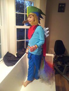 My son Dressed 20% cooler for halloween    #thinkgeekoween