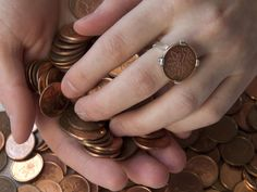 The Canadian penny will still be around for years — just in many fewer cash registers. Designer Renee Gruszecki is one of a handful of creative Canadians taking repurposing the pennies — creating jewellery for her Halifax studio Coin Coin designs & co. Canadian Penny, Coin Design, Coin Ring, Jewelry For Her, Coins, Collection, Pennies, Repurposing, Wire Wrap