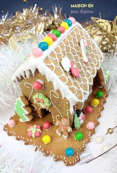 Tuto maison en pain d'épices #maison #paindepices #gingerbread #house