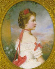 1871 Archduchess Gisella by Friedrich Wailand, probably after Ludwig Angerer (location unknown to gogm)