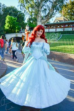 I'm kinda liking Ariel's new park dress...