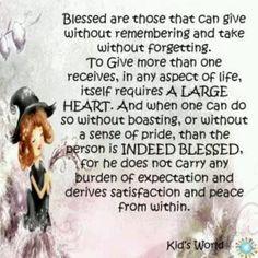 Beautiful words!