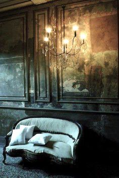 7 Dark & Moody Interiors That Really Do Work. These dark and moody interiors prove that you really don't have to be afraid of the dark any more. Gothic Interior, Interior And Exterior, Palace Interior, The Dark Side, Deco Boheme, Gothic House, Victorian Gothic, Victorian London, Dark Gothic