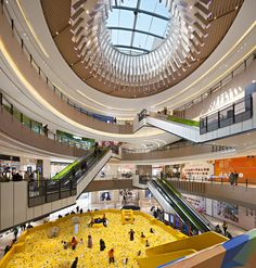 Setting: the setting of the story take place in a city mall with diverse of peop… – Commercial Mall Facade, Retail Facade, Shopping Mall Interior, Shopping Malls, Mall Design, Retail Design, Futuristic Architecture, Contemporary Architecture, Riverside Park