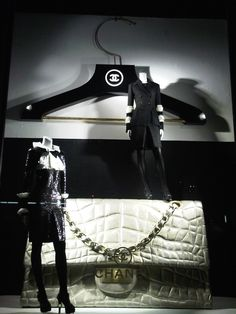 Chanel window display