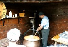 that's how Cheese is made in an ancient/antique way!