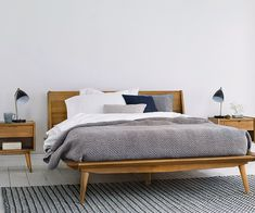 Bolig Bed - Scandinavian Bedroom Set by Scandinavian Designs