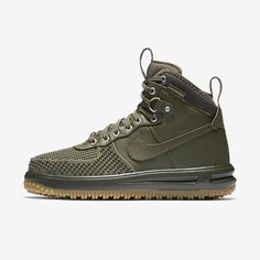 91d31ac5ecff Find Nike Lunar Force 1 Duckboot Medium Olive Gum Light Brown Cargo Khaki  Medium Olive online or in Suprashoes. Shop Top Brands and the latest styles  Nike ...