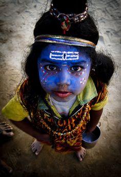 Little Shiva at Maha Kumbh Mela