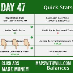 This is the easiest money you will ever make! Click ads and get paid! :) mapswithwill.com