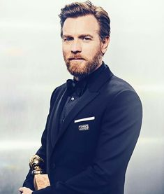 Ewan McGregor at the Golden Globes 2018