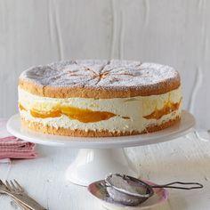 Torte mit Mango