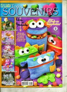 Revistas de manualidades Gratis: Revista de Souvenirs gratis