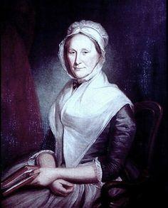 1776 Charles Willson Peale (American artist, 1741-1827) Mrs James Latimer
