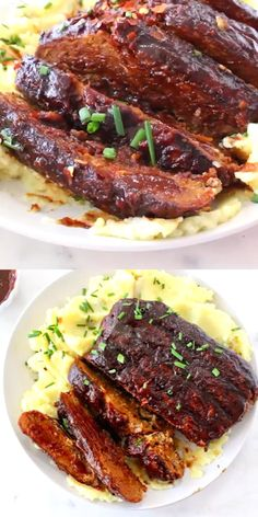 How to make the best vegan ribs with jackfruit and vital wheat gluten plantbased wfpb oilfree veganrecipes easyrecipe 627618898050083737 Seitan Recipes, Jackfruit Recipes, Rib Recipes, Whole Food Recipes, Cooking Recipes, Healthy Recipes, Crockpot Recipes, Vegan Bbq Recipes, Meat Recipes