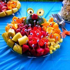 Fruit Platter with Eyes
