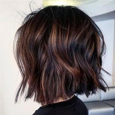 15 wavy short hairstyles for chic ladies Long Bob Hairstyles chic Hairstyles Ladies Short Wavy Ombre Hair Long Bob, Balyage Short Hair, Medium Hair Styles, Curly Hair Styles, Hair Medium, Wavy Bob Hairstyles, Chic Hairstyles, Messy Bob Haircuts, Short Wavy Hairstyles For Women
