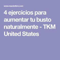4 ejercicios para aumentar tu busto naturalmente - TKM United States