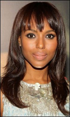 16 Kerry Washington Hairstyles | Straight haircuts, Kerry washington ...