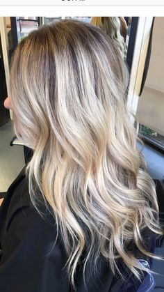 Hair, highlights, blonde, shadow root, babylights, Balayage, bronde, hairpainting