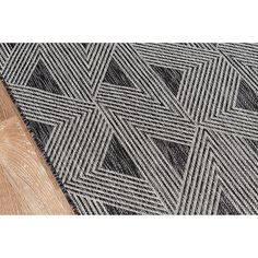 Shop for Novogratz by Momeni Sardinia Indoor/Outdoor Grey Triangle Pattern Flatweave Rug (See Available Sizes). Get free delivery On EVERYTHING* Overstock - Your Online Home Decor Store! Tribal Patterns, Triangle Pattern, Modern Area Rugs, Indoor Outdoor Area Rugs, Outdoor Living, Tribal Fashion, Accent Rugs, Villa, Sardinia
