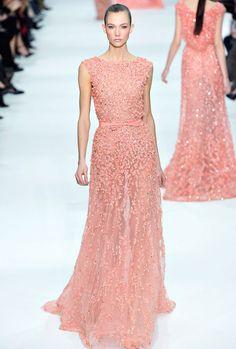 Karlie Kloss - Elie Saab Couture Spring 2012