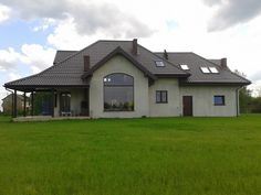 Elewacja domu Rubin #elewacje #projekt #dom