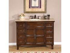 Found it at Wayfair - Claire Single Sink Bathroom Vanity Set Bathroom Vanity, Bathroom Top, Vanity, Wood Bathroom Vanity, Lavatory Sink, Bathroom Furniture, 48 Inch Bathroom Vanity