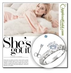 """""""5. Ring and earring from Appelsofgold.com"""" by danijela-3 ❤ liked on Polyvore"""
