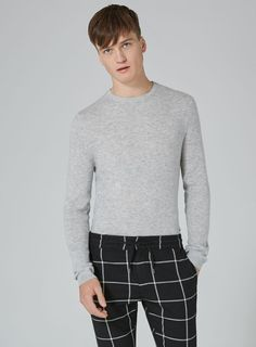 Light Gray Cashmere Sweater
