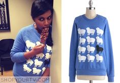 this sweatshirt Mindy wore!
