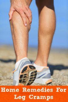 Home Remedies For Leg Cramps - Medi Craze